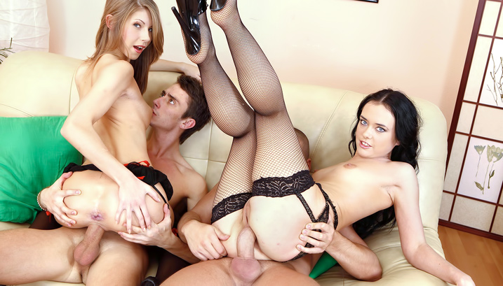 Anal Foursome